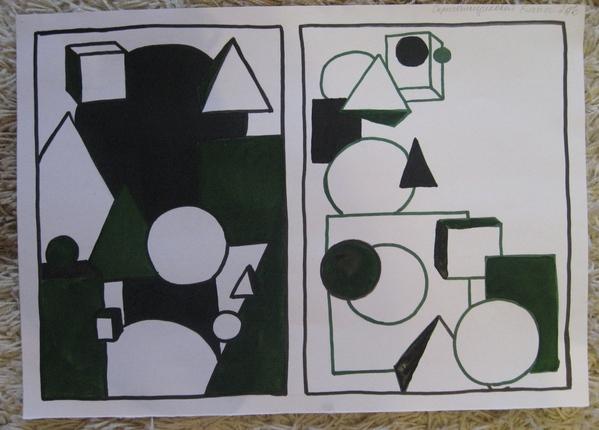 и асимметрия в композиции