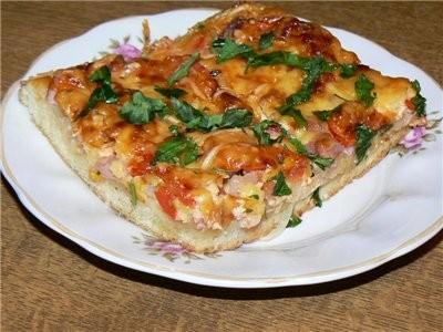 Хочу поделиться своим рецептом пиццы, ммм - 2