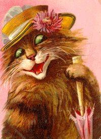 у меня есть коллекция натасканых открытокс кошками, может найдется - 3