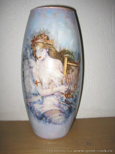И ещё одна вазочка
