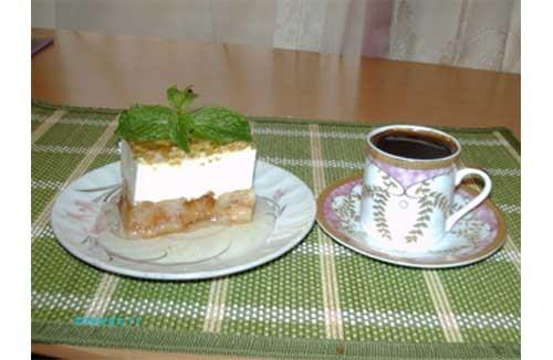 """предлагаю палестинский десерт """"Эйш - эс - сарайя"""" - """"Хлеб богачей"""""""