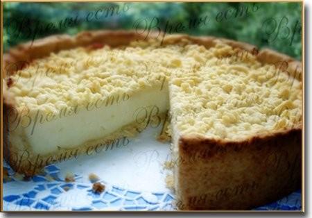 Творожный пирог Тесто: 150 г масла 2 желтка 2-3 ст