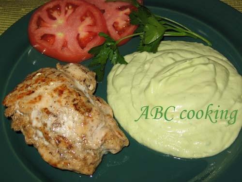 """Lemon Chicken with Guacamole Sause Этот замечательный рецепт я нашла в книге Linda Fraser""""Quick and... - 4"""
