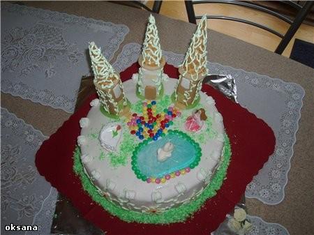 это я опять еще с одним тортиком