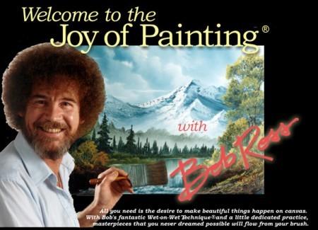 Весь Боб Росс А здесь картины всех сезонов Боба Росса - 3