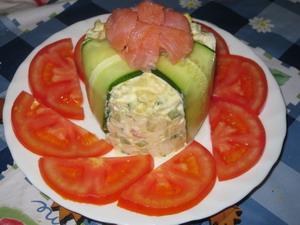Салат норвежский