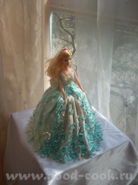 Кукла Барби А теперь та же Барби на полянке - 2