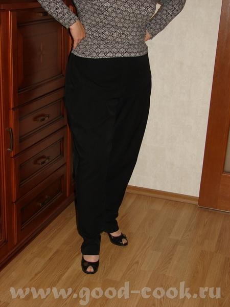 """Общий вид (типа """"турецких штанов"""") Особенности кроя: спущенная линия бёдер"""