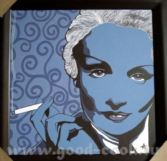 Спасибо Xороший подарок будет мужу под ёлочкой Oчень понравилась ваша Marlene Dietrich Очаровательн...