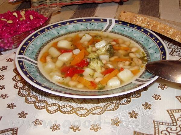 Рыбный суп с фрикадельками Суп с овощами Быстрый суп с фасолью и брокколи Угра-чучвара(узбекский су... - 3