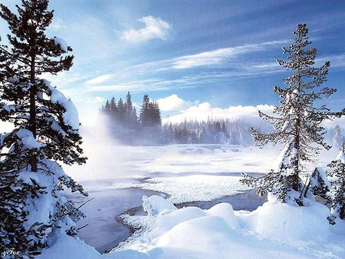Всех поздравляю с первым днём зимы