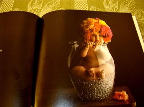 А я после отпуска, наконец то нашла альбом Anne Geddes с великолепными фото младенцев - 4