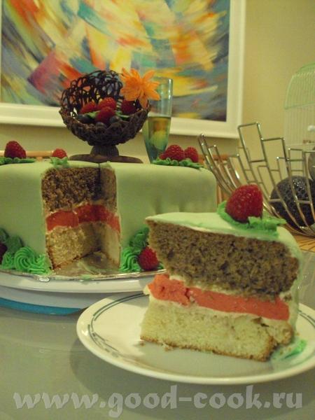 а вот мои фантазии на тему самого вкусного торта в мире, мастика кривовата, но это один из моих пер...