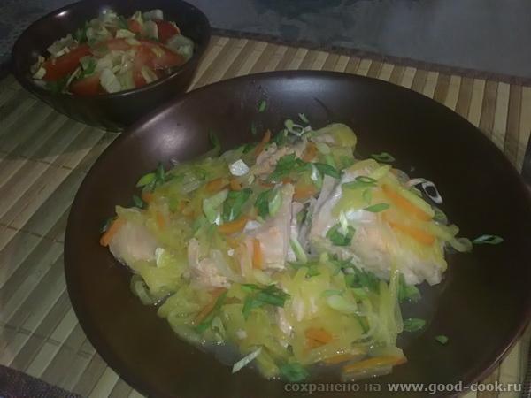 рыба-овощи
