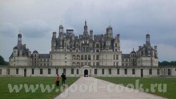 Это вид на замок Chaumont И на Луару - 5