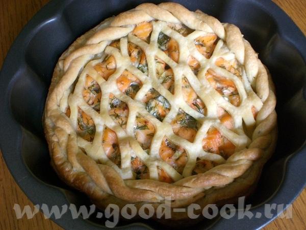 Хочу поблагодарить Вас (не знаю Вашего имени) за рецепт Слоёные пирожки с сёмгой, луком и укропом - 2