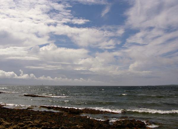 Моё сегодняшнее море, небо,солнечные зайчики на воде - 3