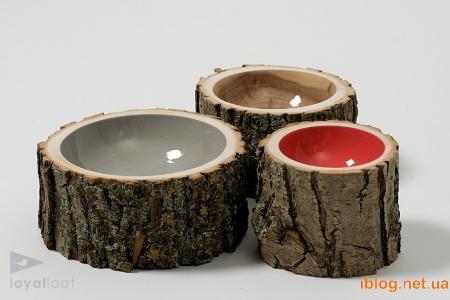 Все создано вручную, из древесины упавших деревьев, так что ни одно растение не пострадало