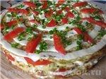 Овощные и грибные блюда Баклажаны Баклажанные рулетики с сыром и перцем Баклажаны под сыром с томат... - 3
