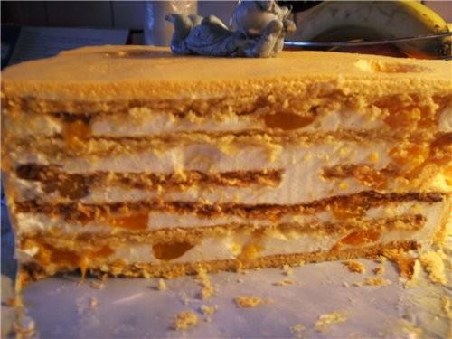 Ну продолжим мышинно-сырную тему: Вообще-то изначaльно было задоманно покрыть торт мастикой, но в е... - 2