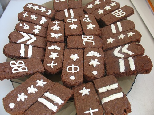 Шоколадное печенье «Погоны» (по рецепту из журнала «Школа Гастронома») Я сделала 2 порции, не потом...