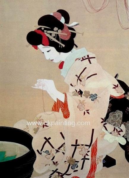и ещё немного японских мотивов - 9