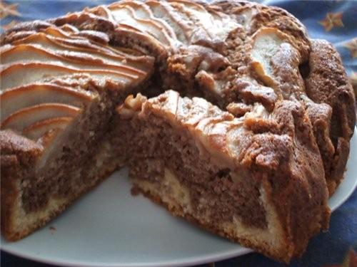 Кексы с яблоками (в оригинале маффины с ревенем) от Мишель кажется или от Сонули, не могу его в пер... - 2