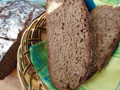 С лета осталось много сухого кваса и солода, можно испечь хлеб - 2