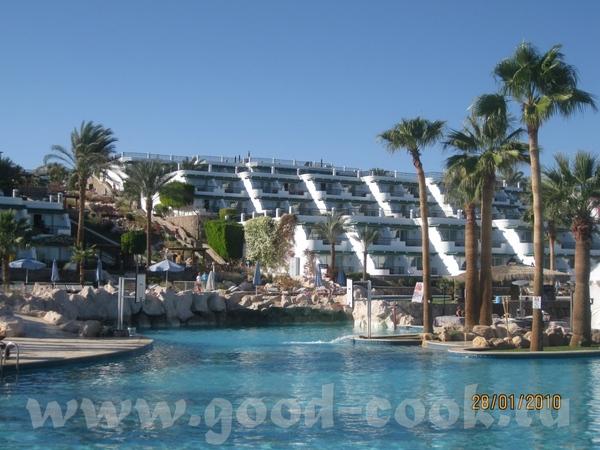 я как и Оля ( ) ездила в Египет в Шарм эль Шейх, отель Hilton Waterfalls (*****) - 3