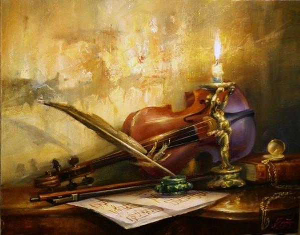скрипка - вообще необычный инструмент - 4