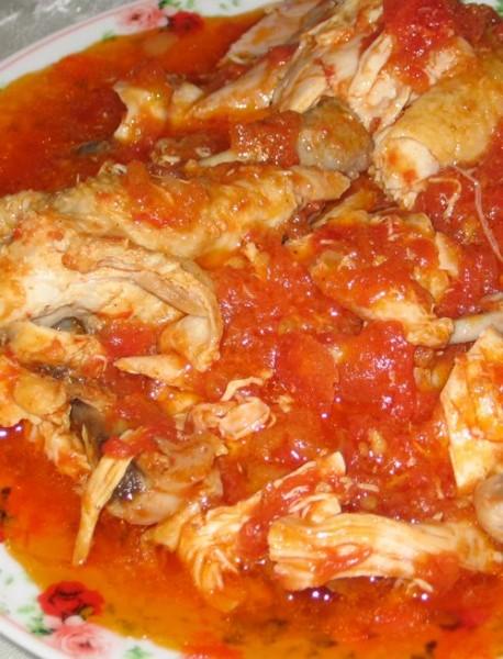 Курица с помидорами и медом - 2