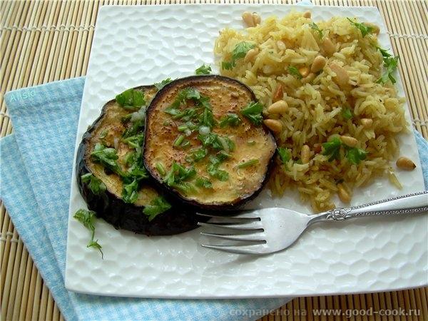 Вегетарианский ужин с индийской ноткой Очень ароматный и сытный ужин с индийской ноткой, из баклажанов роти и парфюмиро...