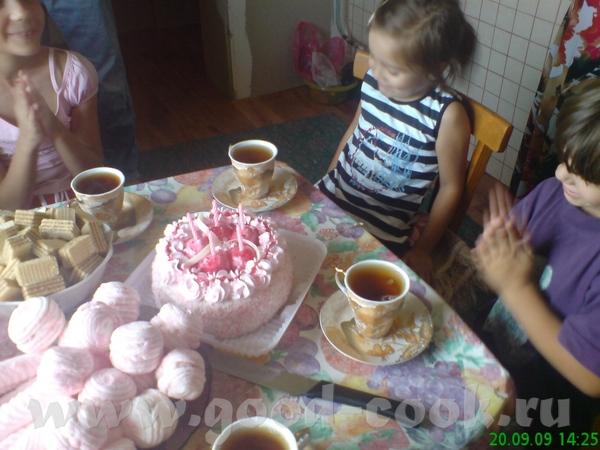 день рождение Лизы - 5 лет (фото не очень с телефона)