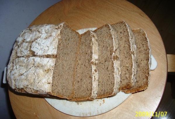 Еще раз делала хлеб, который описан на пару страниц ранее - 2