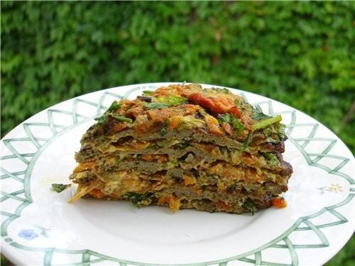 ПЕЧЕНОЧНЫЙ ТОРТИК Возможно, этот рецепт не имеет ничего общего с украинской кухней