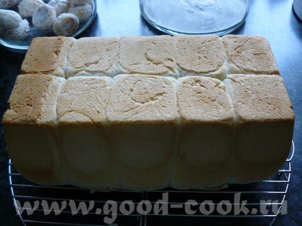 Мой первый в жизни тост-хлеб :yes3: - 3