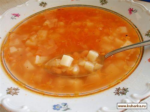 Краткое описание: сварить суп из сухих грибов - вкусный крем суп.