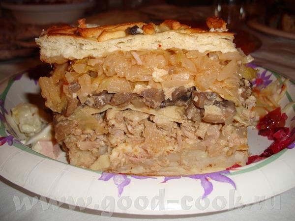 Кулебяка – круглый пирог, реже овальный, с многослойной начинкой Название кулебяка появилось в нача... - 2