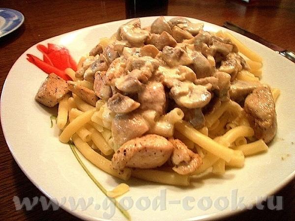 Это моя версия рецепта Цыплёнка Альфредо (Chicken Alfredo) , и по нему получается отличное, быстрое...