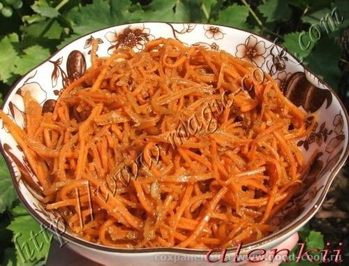 МОРКОВЬ ПО-КОРЕЙСКИ Очень много было здесь рецептов корейской морковки,и я хочу показать рецептик,полученный еще в Таш...
