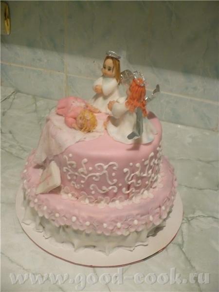 Вот первый мой крестильный тортик - 2