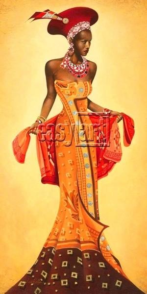 У меня на папке вот такое лежат- Afrika Art Decor - 7
