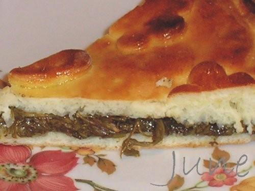 Пирог с щавелем Вам потребуются: для теста: мука - 350г; молоко - 1/2 стакана; яйцо - 1 шт