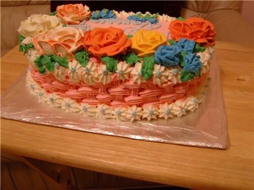 Мой вчерашний тортик - 2
