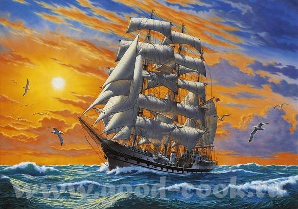 """Ris Lassen """"Wanderer of the sea"""" от =========================== Более чем 1000 xудожников"""