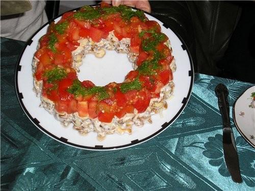 вот мой салат