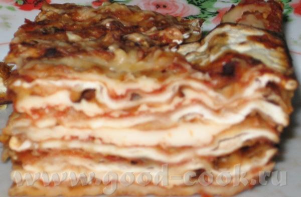 И еще одно блюдо с Песаха: Лазанья из мацы - 4