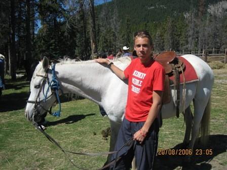 В походе передвигались на великах, пешком и на лошадях