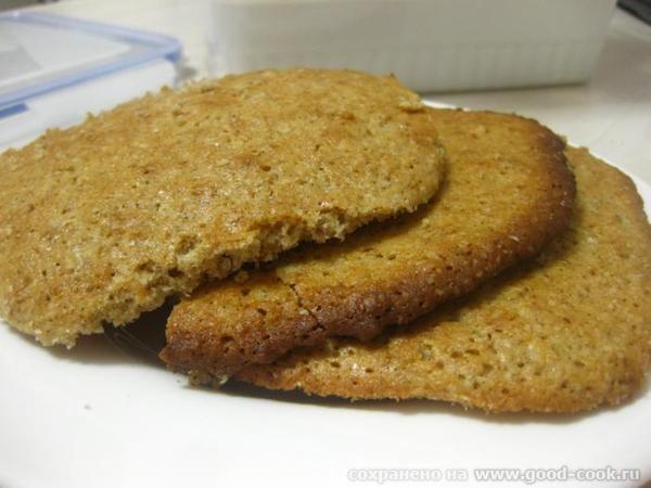 0всяные печенья