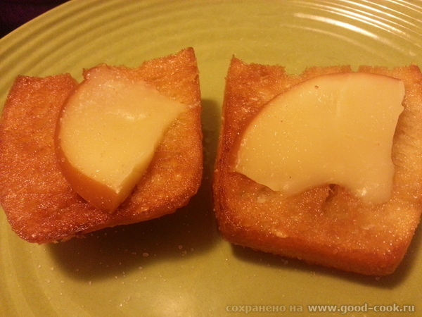 чабатта с копченым сыром